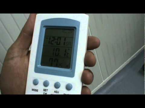 Manejo termometro cuatro pantallas.  Ajustes fecha y hora.MPG