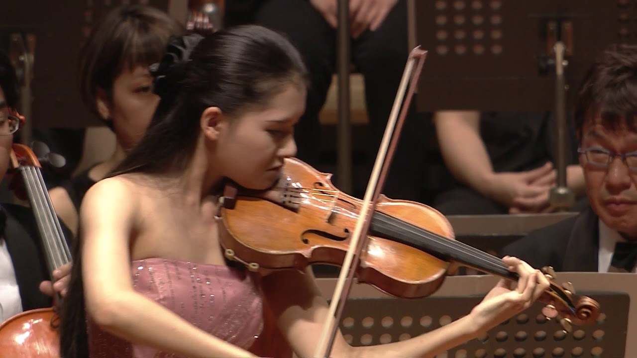 Cadenza to Paganini Violin Concerto No. 1 with the Tokyo Philharmonic Orchestra and Masane Ota, September 2017