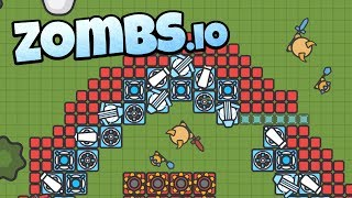 Zombs.io - Best Pet Ever! - New Bosses and Epic Base! - Zombs.io Gameplay - Top Player