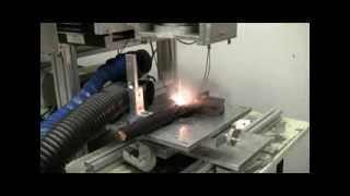 Laser Cable Stripping test in the Applications Lab