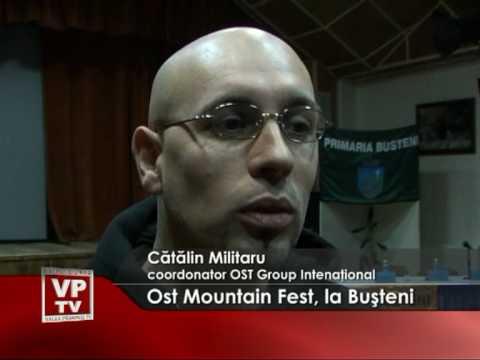"""Festival de muzică rock """"Ost Mountain Fest"""", la Buşteni"""