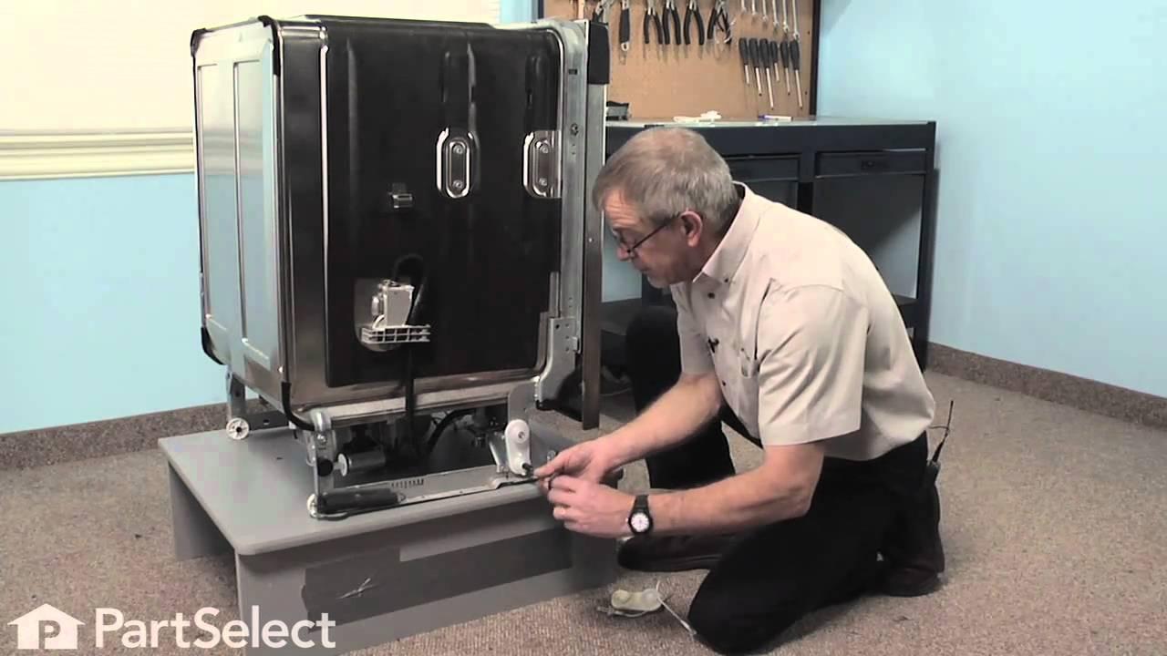 Replacing your KitchenAid Dishwasher Door Balance Link Kit