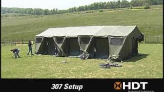 HDT Base-X® Shelter Deployment