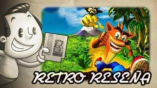 preview picture of video 'Retro Reseña - Crash Bandicoot 1'