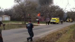 Bastrop County House Fire