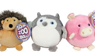Squee-Zoo-Balls Squishy Animal Plush Toy Review