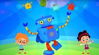 Четверо в кубе -  Кубо роботы - Серия 18 - музыкальный мультфильм для детей