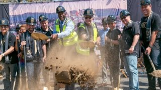 Watch the official groundbreaking for LAFC's new Banc of California Stadium