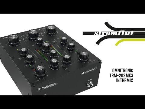 Omnitronic TRM 202 MK3 in the Mix