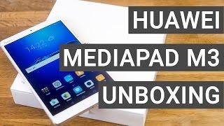 Huawei MediaPad M3 Unboxing & Erster Eindruck | Deutsch