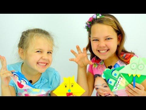 Видео для детей. Мастер класс по оригами.