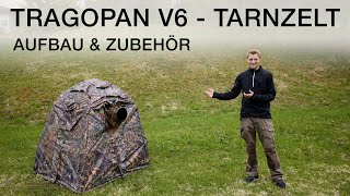 Tragopan V6 - Tarnzelt für die Tierfotografie und Vogelfotografie (Aufbau und mini Review)