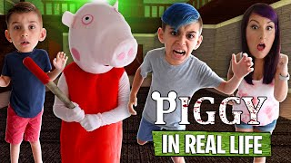 Roblox PIGGY In Real Life - Chapter 1 The House (FUNhouse Family)