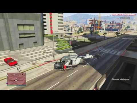 GTA 5 Смешные моменты приколы падения баги глюки