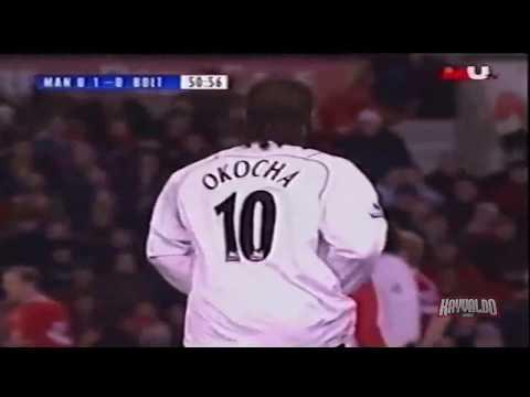 Jay Jay Okocha vs Manchester United (26, December 2004)