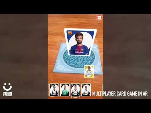 Multiplayer Card game in augmented reality