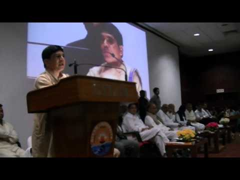 Founder and Chairman Kuchibhotla Anand addressing  ITIC2012 Held in Visakhapatnam Recently