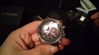 UNBOXING: Citizen Promaster Sky Pilot Titan Chronograph AS4050-51E