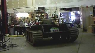 E-25 tank destroyer build part2.wmv