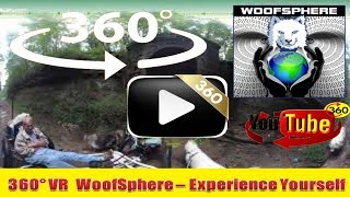 360 Videos | WooFDriving Northbend Rail Trail in West Virginia 360º | Virtual Reality | Woofsphere