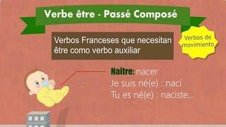 Verbos con être en el pasado Francés