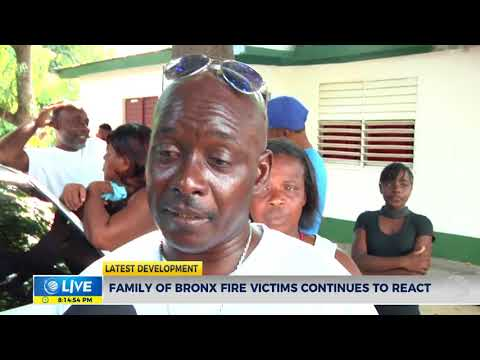 Family of bronx fire victims continues to react