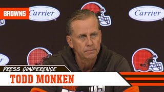 Todd Monken Analyzes Nick Chubb's NFL-Leading Season | Cleveland Browns