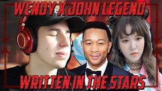Music Critic Reacts to WENDY x John Legend - Written In The Stars