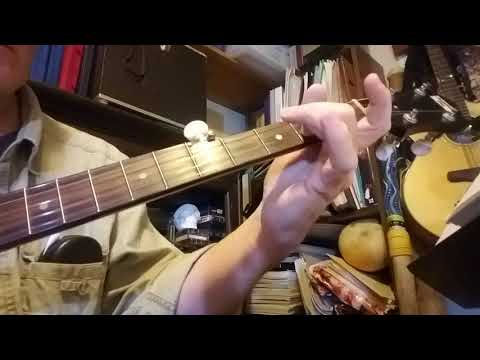 Rock of Ages LESSON 2 WTAB COMPLETE  Clawhammer banjo Gillian Welch Cover