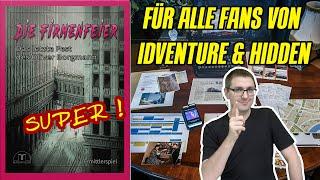 Die Firmenfeier (Magnificum 2021) - Ermittlerspiel wie Hidden Games Tatort oder Detektive Stories