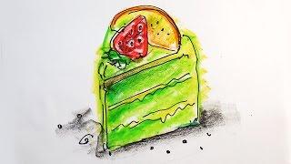 Тортик Киви