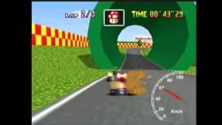 "NTSC World Record on Mario Raceway: 1'13""28* by Daniel Burbank"