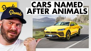 9 Cars Named After ANIMALS
