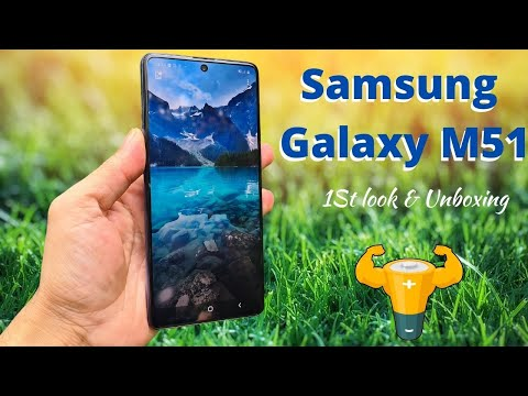 Samsung Galaxy M51 Unboxing and 1st Impression