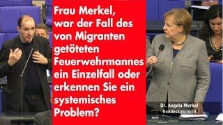 Frage an Kanzlerin Merkel zu systemischer Migrantengewalt