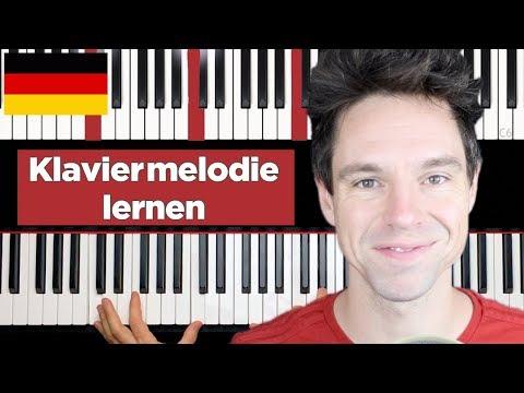 Ziemlich coole Klaviermelodie (neue Melodie) - Klavier lernen