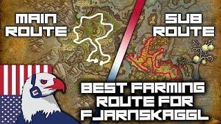 Best Fjarnskaggl Farming Route (still good with flying) - Legion Gold Farming 7.2 with Herbalism