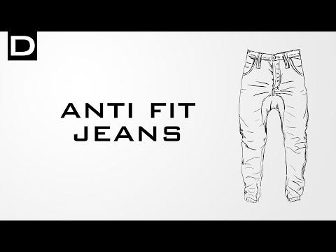 Erklärung: Anti Fit Jeans-Schnitt | DENIMO