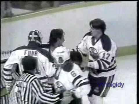 Marty McSorley vs. Larry Playfair