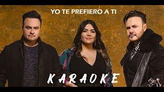 Rio Roma FT Yuridia - Yo Te Prefiero a Ti (KARAOKE) 2019