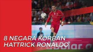 8 Negara Korban Hattrick Ronaldo dari Spanyol hingg Swiss