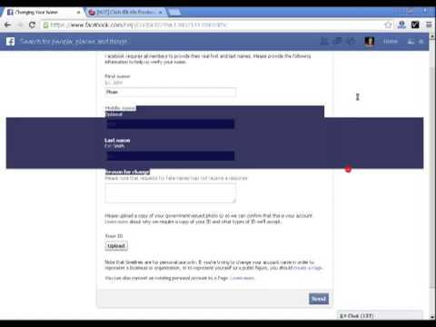 2 cách đổi tên FB lần thứ 6. Link đổi tên ở dưới cmt nhé