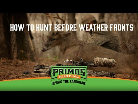 How to Hunt Before Weather Fronts video thumbnail