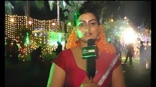 Siruvani On Location