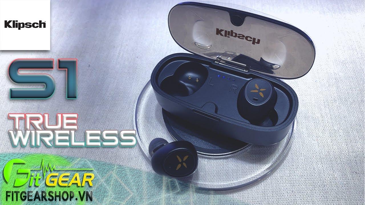 Klipsch S1 True Wireless | Tai nghe không dây BÁ ĐẠO trong phân khúc