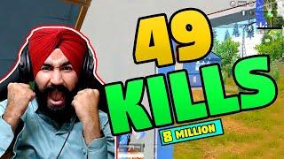 49 KILLS || PUBG MOBILE || AWM & M416 SKILLS