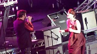 "According2g.com presents ""Safe"" by Duran Duran (feat. Ana Matronic) live in NYC"