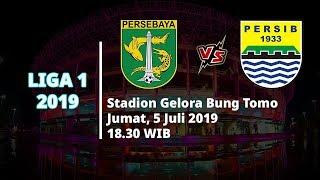 Sesaat Lagi! Siaran Langsung Liga 1 2019 Persebaya Vs Persib Bandung Pukul 18.30 WIB