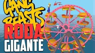 RODA GIGANTE ! - Gang Beasts, Momentos Engraçados ‹ Bitgamer ›
