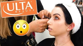 I GOT MY MAKEUP DONE AT ULTA....and it was shocking